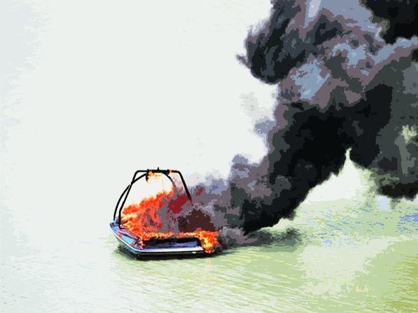 Burning issue | Club Marine Australia