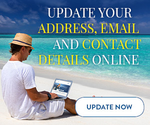 Update your contact details online