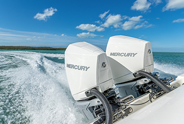 Mercury's new stable of V8 outboards